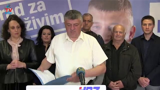 Petar Krmpotić predstavio svoju listu za grad Gospić