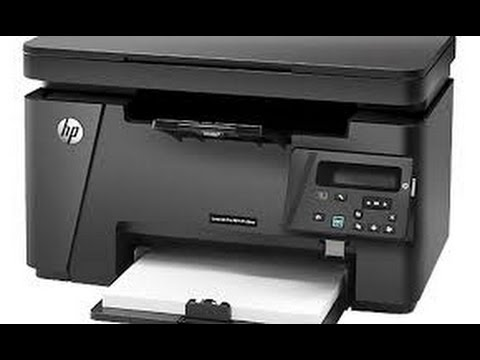 HP laserjet Pro MFP m126 nw Review and Setup