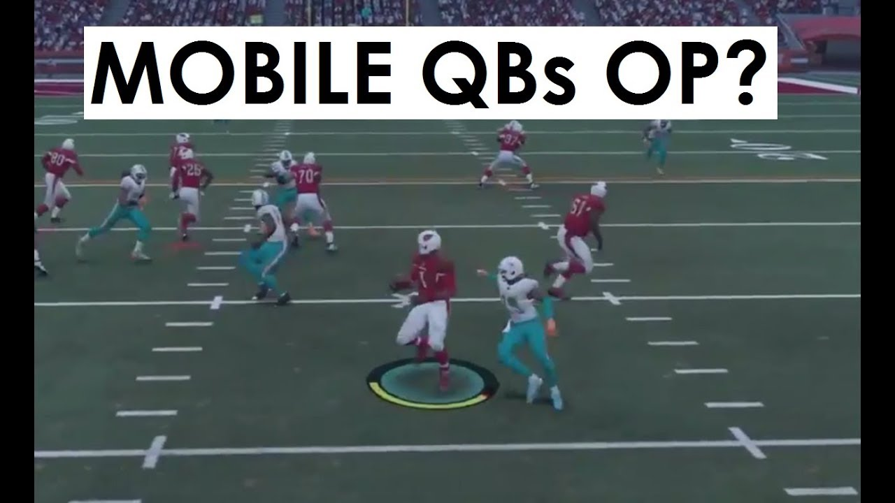 QB SCRAMBLING IN MADDEN 18 - OVERPOWERED OR USELESS?