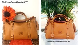 Dooney & Bourke -  Florentine Satchel Comparison (Small/Medium) -