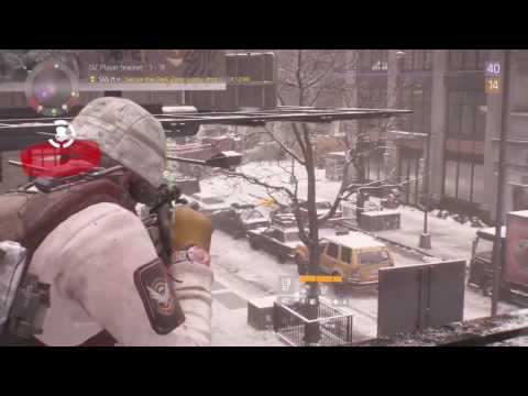 The Division rooftop sniping - Just testing it out!