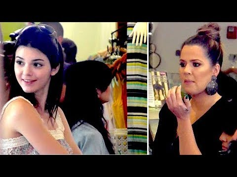 Kendall Jenner Has SUCH A Babyface As She Shops For Penelope's First B-Day [2013] thumbnail