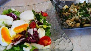 САЛАТЫ без МАЙОНЕЗА вкусные быстрые и простые рецепты салатов Салаты на праздничный стол