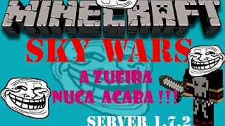 Server para o minecraft pirata 1.7.2 de SkyWars