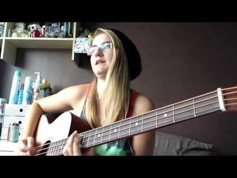 Daughter - Youth Acoustic Bass Cover