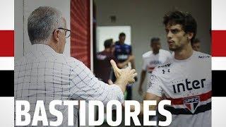BASTIDORES: LINENSE 1x2 SÃO PAULO   SPFCTV