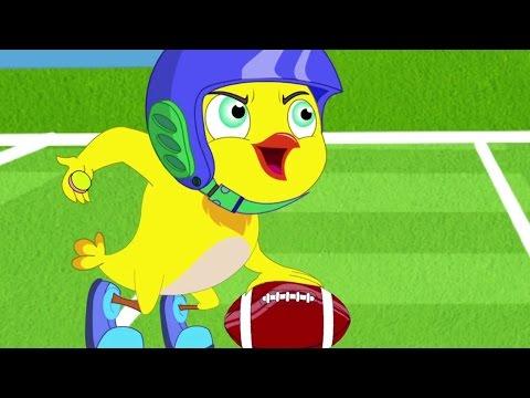 Cartoon | Eena Meena Deeka - American Football | Videos For Kids