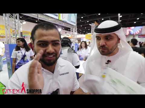 Khalid Al Ameri is looking for deals, deals and deals at #GITEXShopper!