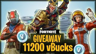 HOW TO WIN FREE SKINS IN FORTNITE BATTLE ROYALE! | 11,200 vBuck GIVEAWAY!