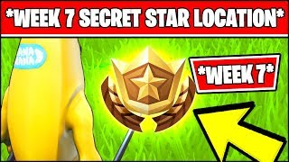 WEEK 7 SECRET BATTLE STAR LOCATION SEASON 10 X (Fortnite Loading Screen 7 Battle Star)
