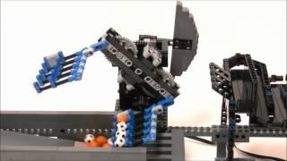 """レゴの""""熊手""""? ボールを掻き上げるマシン"""