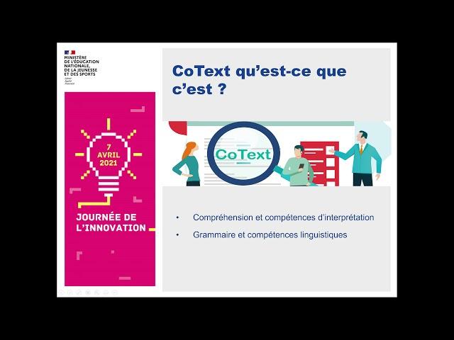 CoText : un logiciel d'aide à la préparation du DNB en français