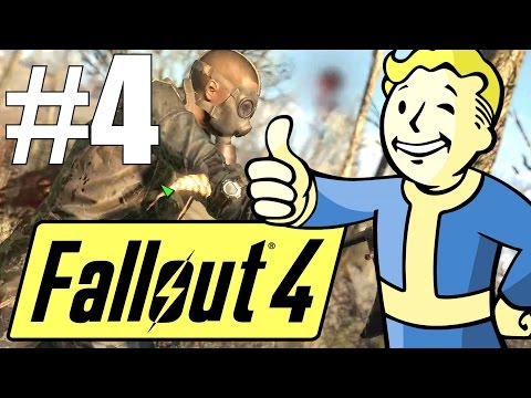 Fallout 4 Lets Play - Part 4 - Let's Rebuild the Commonwealth! (Survival Mode)
