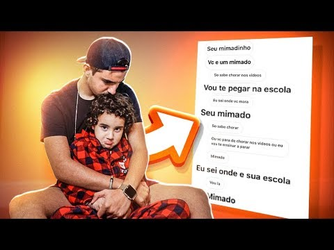 MEU IRMÃOZINHO ESTÁ SENDO AMEAÇADO!!!
