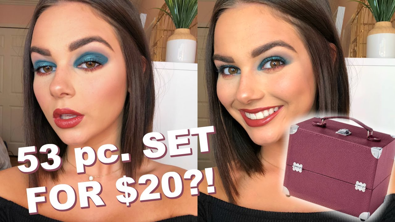 NEW ULTA HOLIDAY SET - LETS PLAY WITH MAKEUP || EJB