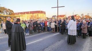 Droga krzyżowa w parafii Zbawiciela Świata
