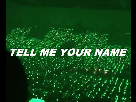 SHINee - Tell me Ur name [Shawol Fanlight!!] JAT Day 1~