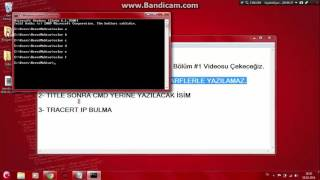 Video Hacker Dersleri CMD #1 download MP3, 3GP, MP4, WEBM, AVI, FLV April 2018