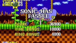 Sonic the Hedgehog - Genesis - Green Hill Zone - User video
