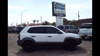 2006 Hyundai Tucson GLS  At Priced Right Auto Sales In Phoenix,AZ Good Credit Bad Credit