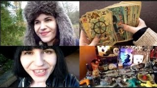 223. [VIDEO SCRAPBOOK] Dame Darcy's Deck | Altar Update | Tarot Tattoos