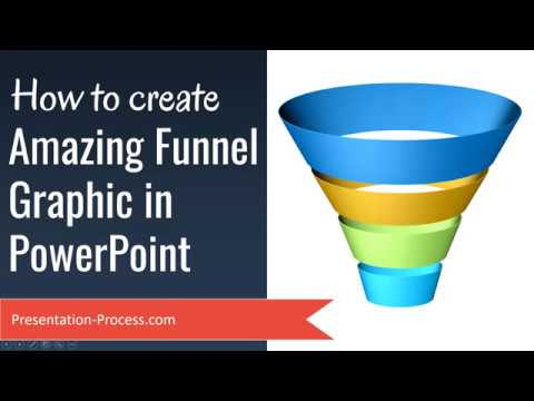 Create Amazing Funnel Graphic in PowerPoint (Advanced 3D Effects