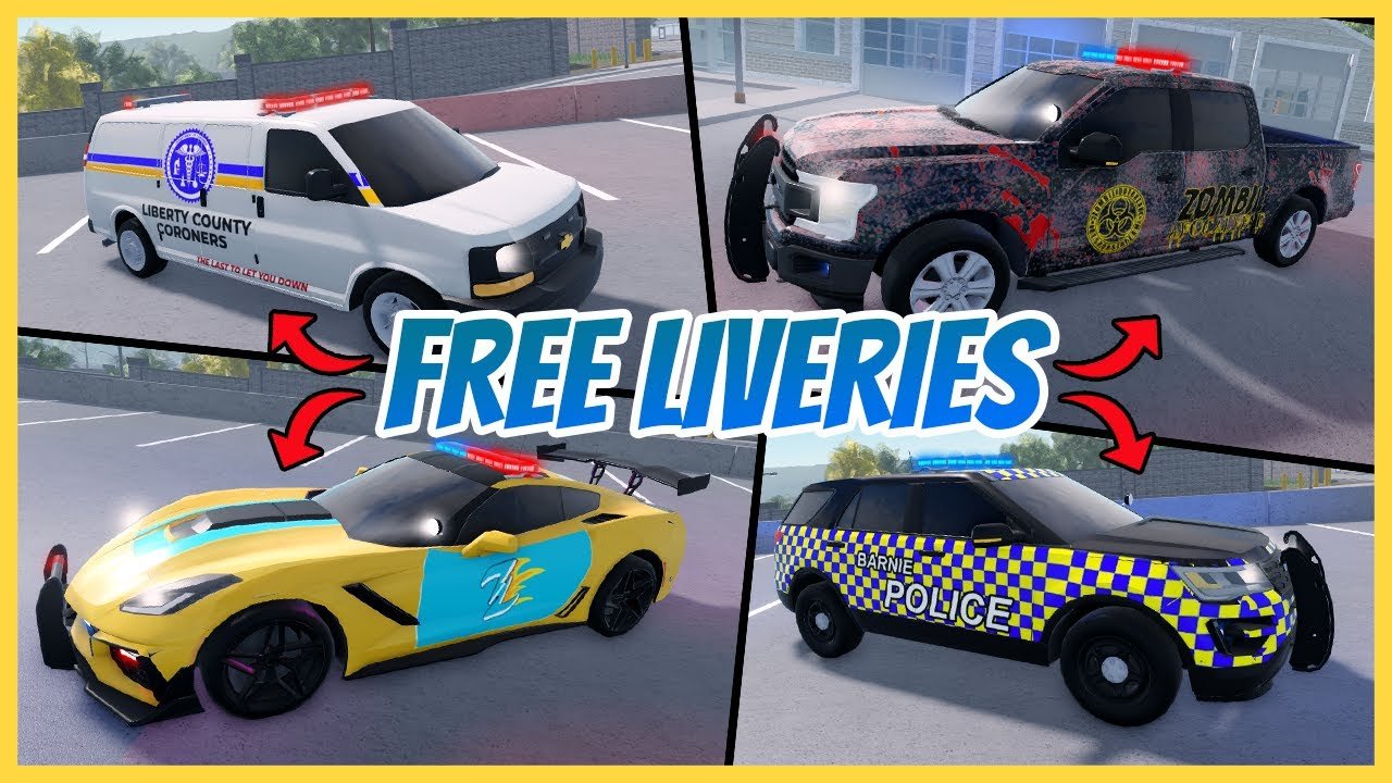 Download ERLC: Best FREE Liveries In Liberty County   Free ERLC Liveries   Roblox Roleplay