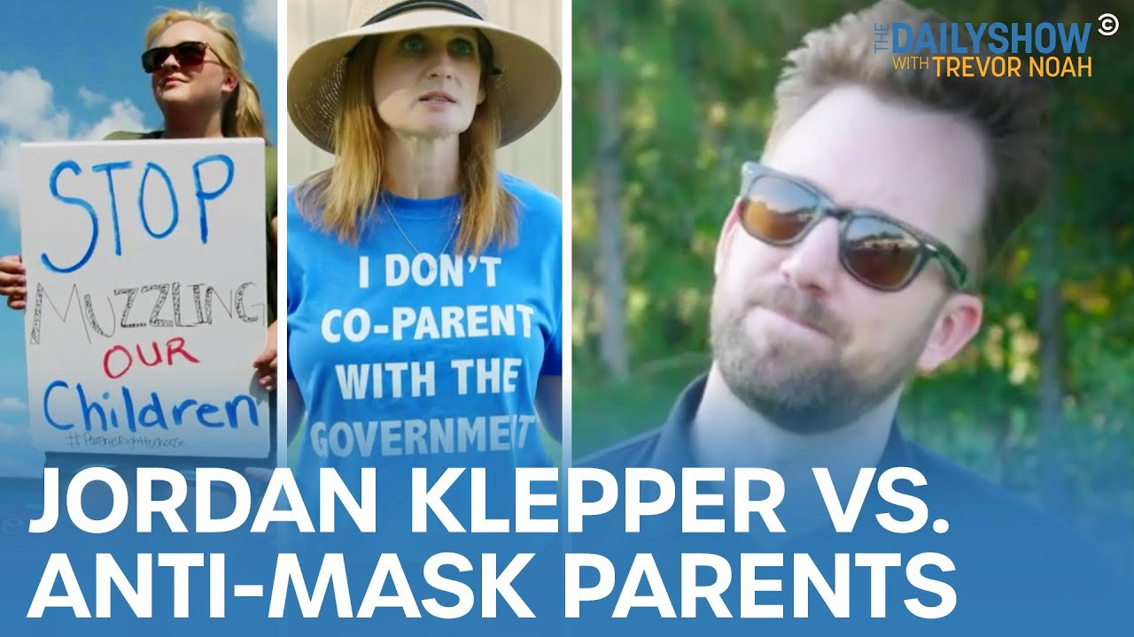 Download The Fight Over Masks In Schools - Jordan Klepper Fingers The Pulse | The Daily Show