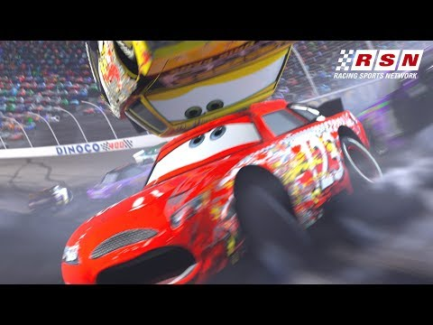 Best Piston Cup Wipeouts | Racing Sports Network by Disney