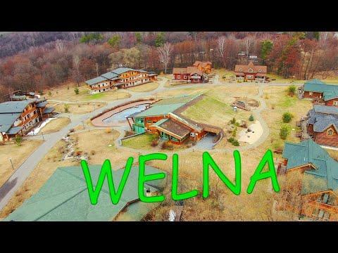 Отдыхаем с друзьями в г.Таруса.Загородный отель Welna Eco SPA Resort 4*.2019г.