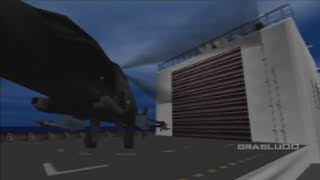 GoldenEye 007 N64 - Frigate - 00 Agent (Real N64 capture)