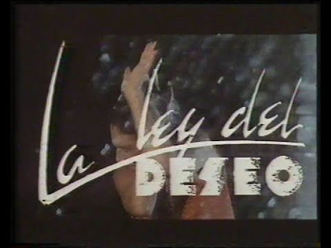 The Law of Desire (Trailer)