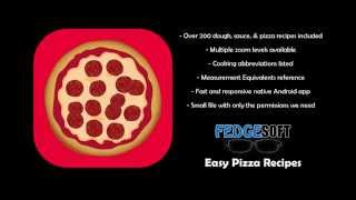Easy Pizza Recipes Free Android App!