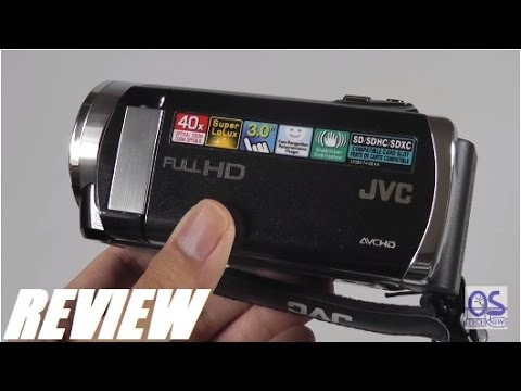 Review  Jvc Everio Hd Camcorder Gz-e200