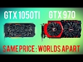 GTX #1050ti vs GTX 970 - Budget Pascal or High End Maxwell? #GTX970