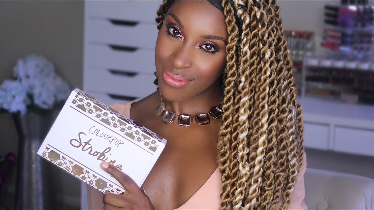 91766d52859 Colourpop Strobe Kit Review + Demo! | Jackie Aina - YouTube
