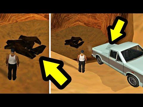 حل لغز الجثث الستة الذي حير العالم في لعبة قراند سان أندرياس | GTA SA Body Bags Easter Egg