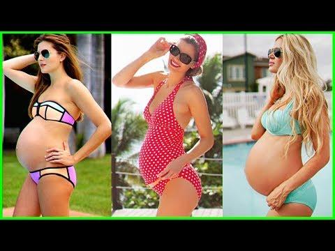 De Para Verano Tendencias Traje Youtube Embarazadas 2018 En Baño uTl35K1JFc