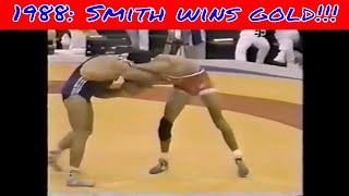 Download 1988 John Smith wins Olympic Gold in wrestling!!!