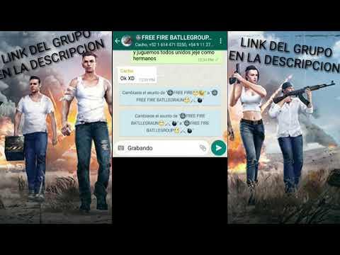 grupo whatsapp free fire link