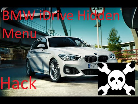 BMW 1 Series M Sport 2015 Connected iDrive Hidden Menu | How To