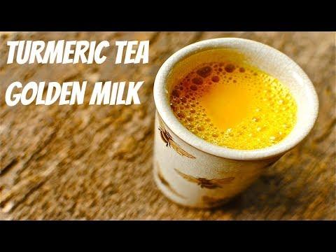 Benefits of Turmeric Tea I Turmeric Health Benefits Golden Milk Recipe