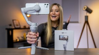 New DJI Mobile Gimbal! OM4 Unboxing and review!