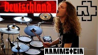 Rammstein DEUTSCHLAND drum cover