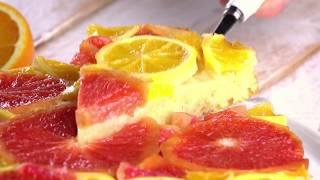 Цитрусовый Пирог С Апельсином И Грейпфрутом: Роскошный Рецепт Летнего Настроения