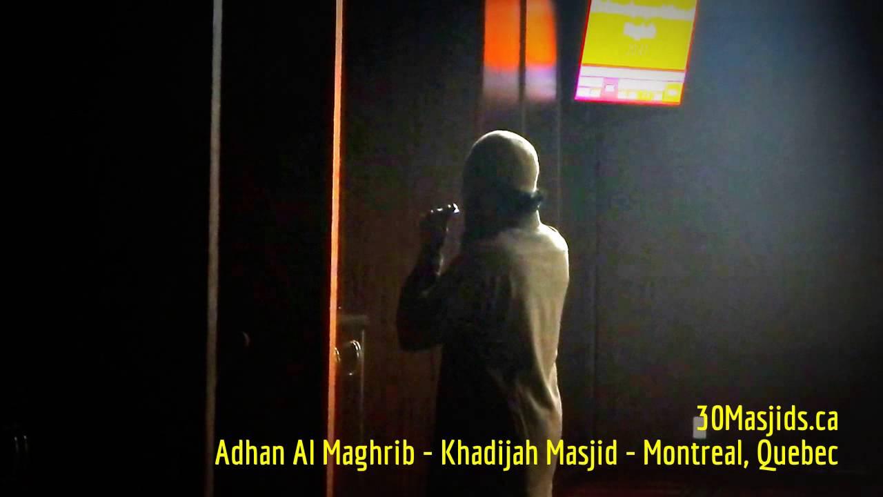 el adhan a montreal