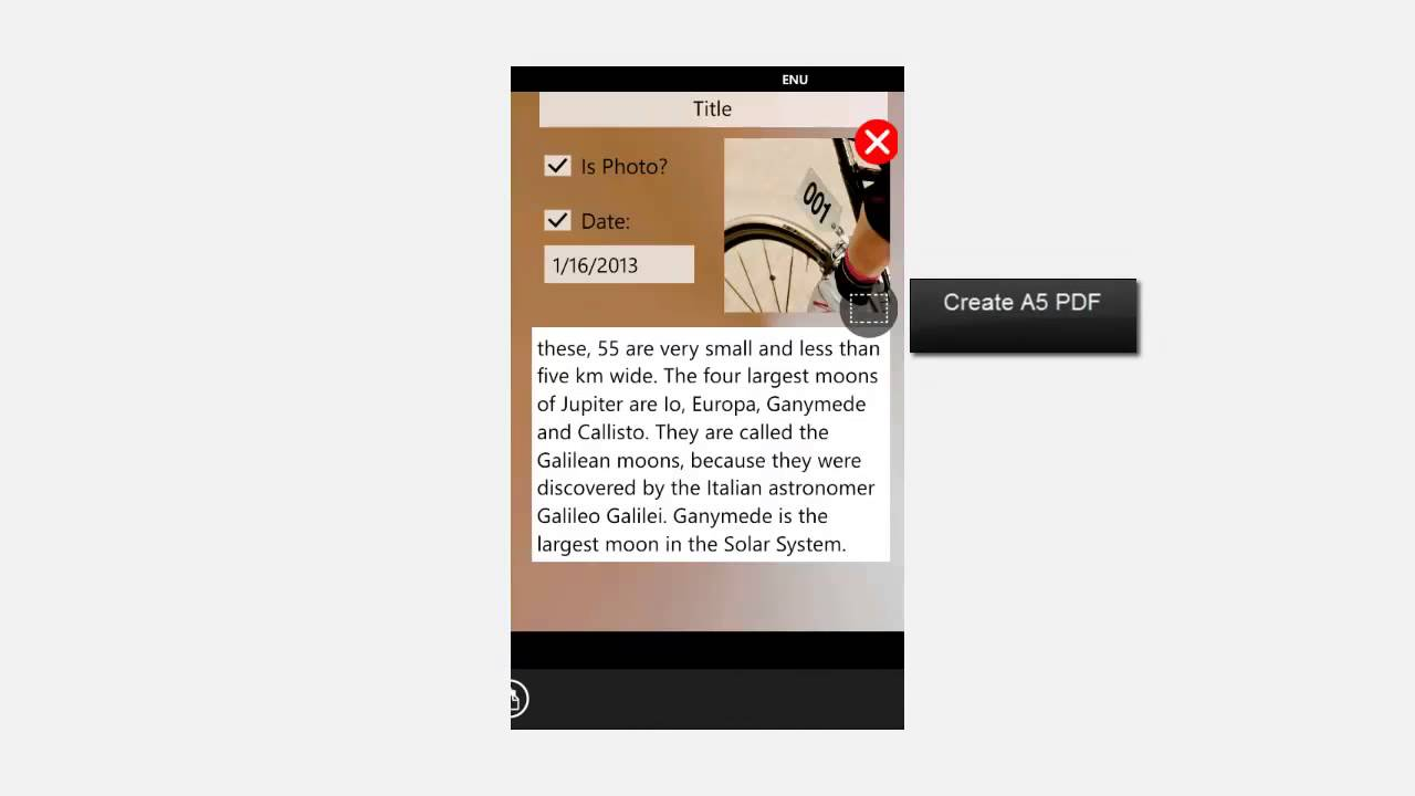 How To Make Pdf File In Phone