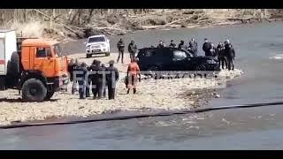 Спасатели подняли утонувший \