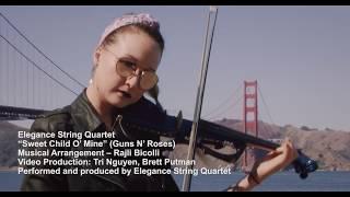 Sweet Child O' Mine - Elegance String Quartet - #onlywithESQ