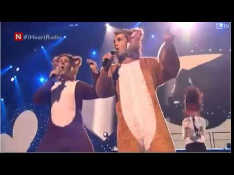 Ylvis - The Fox Live At iHeartRadio in Las Vegas (Without Playback)